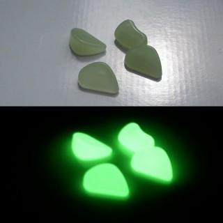 Pequenos Seixos fosforescentes