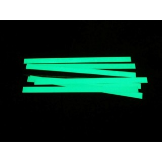 Fita adesiva fotoluminescente em alumínio
