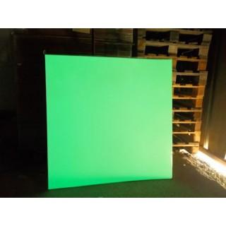 Placas metálicas fotoluminescentes 1m²