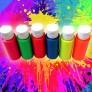 Pintura acrílica fluorescente