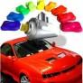 Tinta automotiva fluorescente em spray