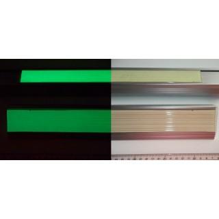 Fita anti-derrapante fotoluminescente borracha