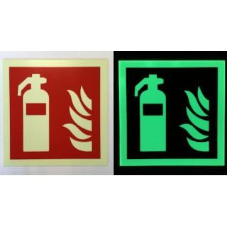 Sinal Fotoluminescente Extintor de IncêndioF001