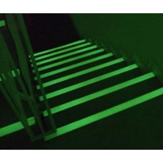 Cantos adesivos Fita fotoluminescente antiderrapante adesiva Alumínio Epóxi