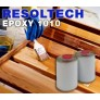 Resoltech 1010 Resina Epóxi para Água com Resina Multiuso